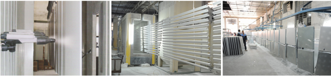 SGS ISO Approval Interior Aluminum Ceiling Grid Heat Insulation