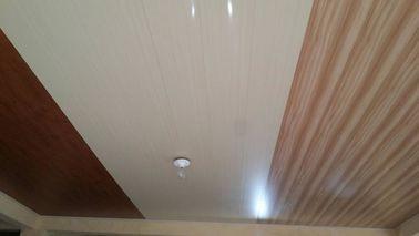 Çin 20cm x 6mm Düz PVC Tavan Panelleri Aspirasyon Ahşap Tasarımı Yok Distribütör